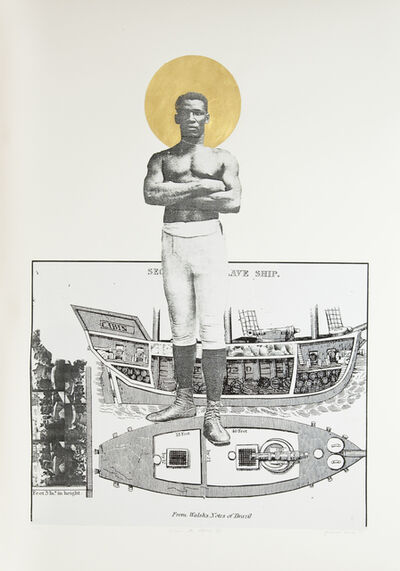 Godfried Donkor, 'SLAVE TO THE CHAMP', 2009