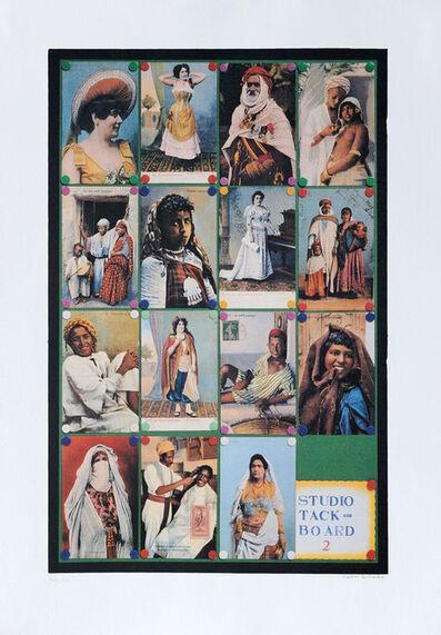 Peter Blake, 'Studio Tack Board II', 2001