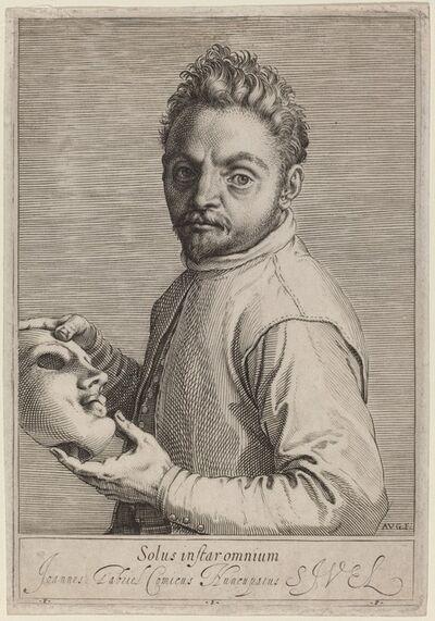 Agostino Carracci, 'Giovanni Gabrielli', ca. 1599