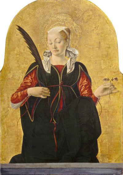 Francesco del Cossa, 'Saint Lucy', ca. 1473/1474