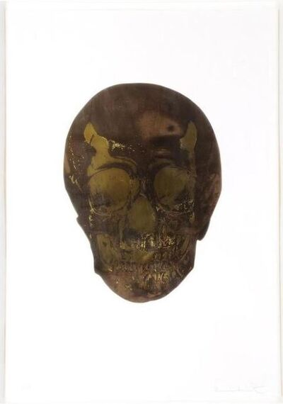 Damien Hirst, 'The Dead (Chocolate Oriental Gold Skull)', 2009