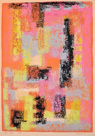 Jean-Paul Mousseau, 'Colour Vapeur', 1956