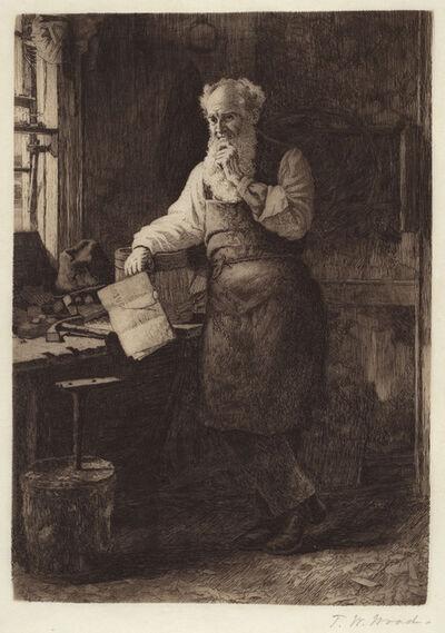 Thomas Waterman Wood, 'Thinking It Over', 1884