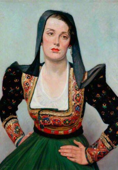 William Rothenstein, 'Miss Grant', ca. 1925