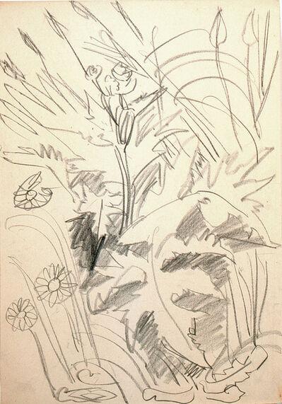 Ernst Ludwig Kirchner, 'Wiesenblumen', 1924