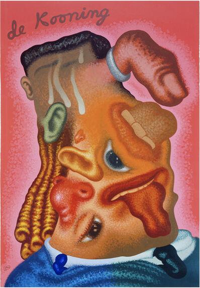 Peter Saul, 'Portrait in the Style of de Kooning', 2007