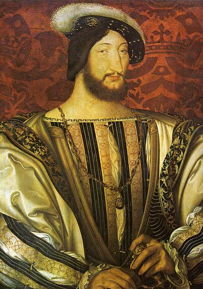 Jean Clouet, 'Francis I', 1525-1530