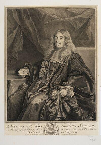 Nicolas de Largillièrre, 'Messire Nicolas Lambert, seigneur de Thorigny, conseiller du Roy en tous ses conseils, et president en la Chambre des compteur', 1698