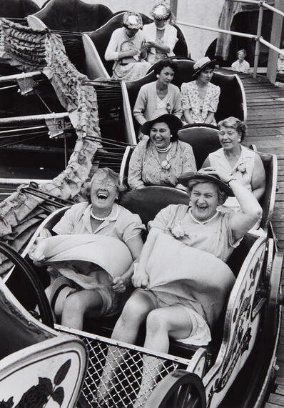 Grace Robertson, ''On the Caterpillar,' London Women's Pub Outing', 1956