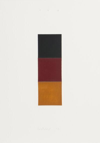 Gerhard Richter, 'Schwarz, Rot, Gold I', 1998