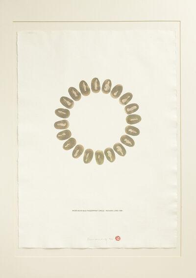 Richard Long, 'River Avon Mud Fingerprint Circle', 1996