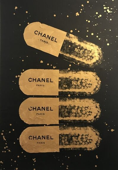 Shawn Kolodny, 'A Golden Chanel a Day', 2018