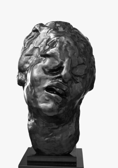 Auguste Rodin, 'Head of the Tragic Muse', 1895