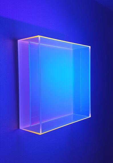 Regine Schumann, 'Colormirror rainbow Senkrecht soft orange', 2013