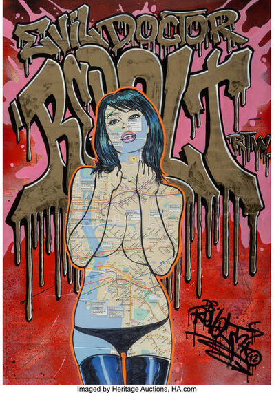 Dr Revolt, 'Miss Subway 3.03', 2012