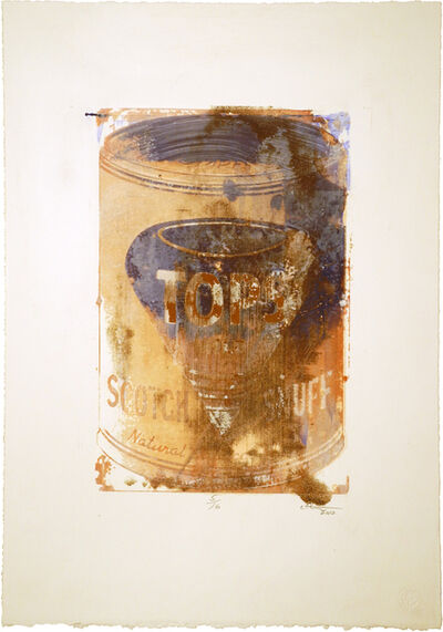 William Christenberry, 'Untitled (Tops Snuff)', 2012