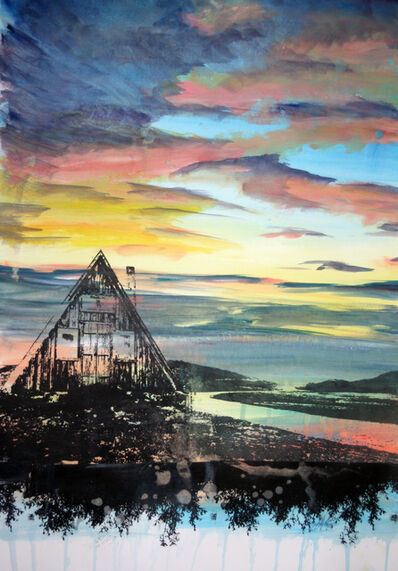 Gillian Pokalo, 'Shelter in the West Fjords at Sunset', 2016