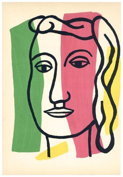 Fernand Léger, 'Visage', 1952