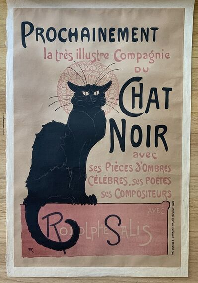 Théophile Alexandre Steinlen, 'Chat Noir', 1896