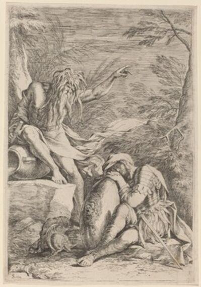 Salvator Rosa, 'The Dream of Aeneas'