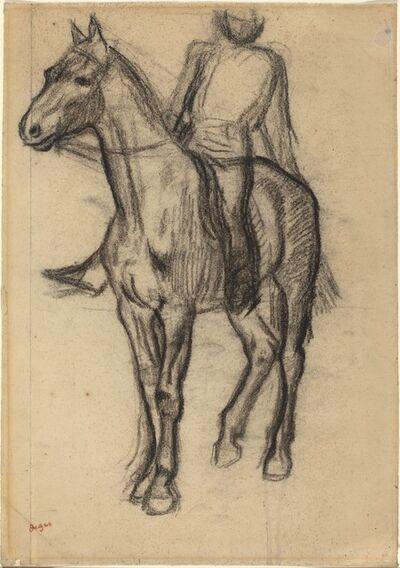 Edgar Degas, 'Horse and Rider', ca. 1878