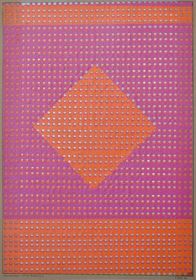 Alberto Biasi, 'Allineamenti ottico-dinamici', 1960