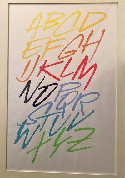 Futura 2000, 'ABCD . . . Z', 2001