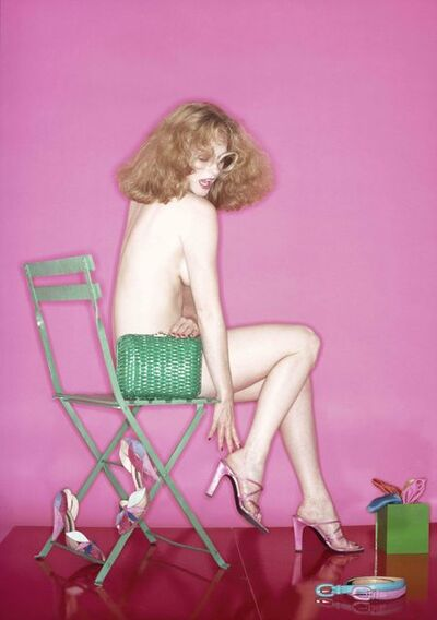 Robert Farber, 'Lady in Pink'
