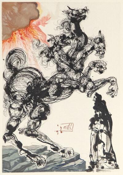 Salvador Dalí, 'Ein Fremd und grausam Untier, Cerberus, Dreimaulig, bellend wie ein Hund und beissend', 1974
