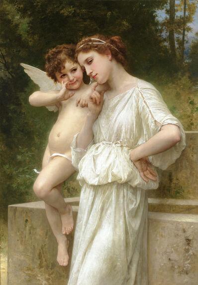 William-Adolphe Bouguereau, 'Secrets de l'Amour (Cupid's Secrets)', 1896