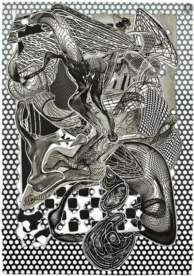 Frank Stella, 'Riallaro (black and white)', 1994
