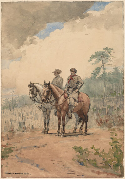 Winslow Homer, 'Two Scouts', 1887
