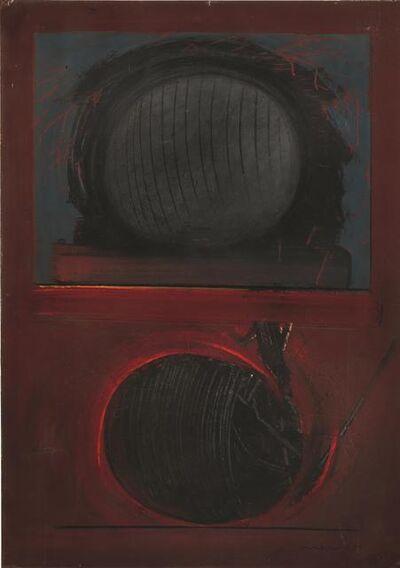 Emilio Scanavino, 'Presenza attiva e passiva', 1965