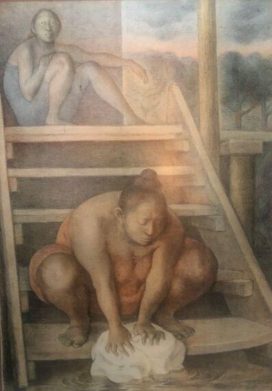 Francisco Zúñiga, 'la escalera', 1986