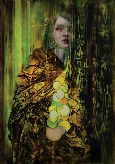 Attila Szűcs, 'Woman transform into Tree', 2020