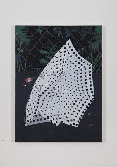Andrea Carpita, 'When I met Yayoi in a broken umbrella', 2021