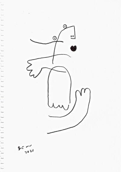 Joji Nakamura, 'drawing M#2', 2020