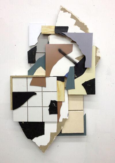 Clemens Behr, 'Splitterrelief #1', 2013
