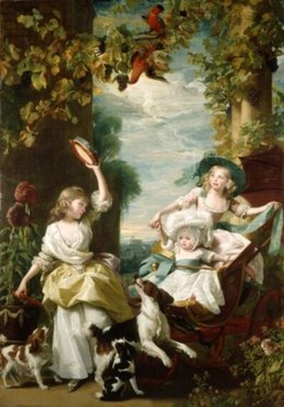John Singleton Copley, 'The Three Youngest Daughters of George III', 1785