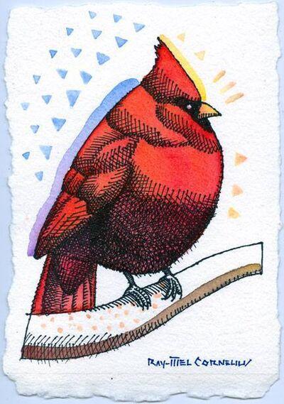 Ray-Mel Cornelius, 'Cardinal', 2015