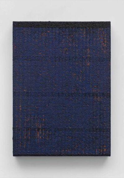 Chi Qun 迟群, 'Bisect-Deep Blue', 2019