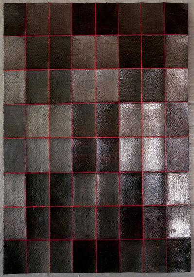 Takayuki Daikoku, 'Fold Drawing 2017-red-05', 2017