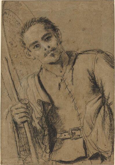 Guercino, 'A Grain Merchant', ca. 1620