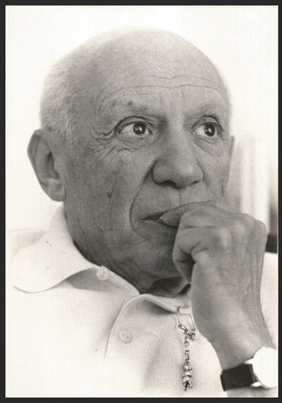 Pablo Picasso, 'Original photo', 1961