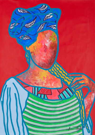 Ajarb Bernard Ategwa, 'Our Senegal women', 2020