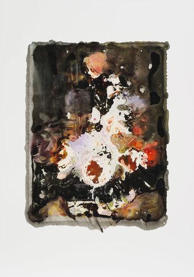 """Joachim Schulz, '""""Vase mit Blumen"""" nach Hendrick de Fromantiou um 1670 bis 1675 7/9', 2017"""