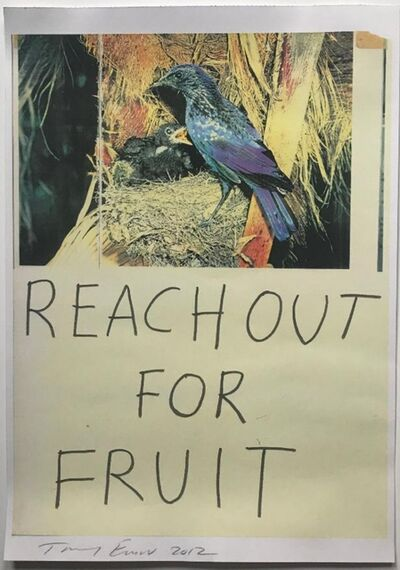 Tracey Emin, 'Reach Out for Fruit', 2012