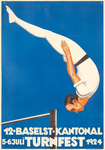 Niklaus Stoecklin, 'Turnfest.', 1924
