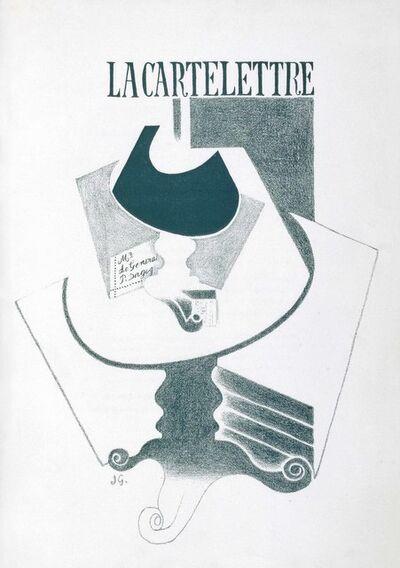Juan Gris, 'Max Jacob, Ne coupez pas Mademoiselle ou Les Erreurs des P.T.T., Galerie Simon, Paris, 1921'