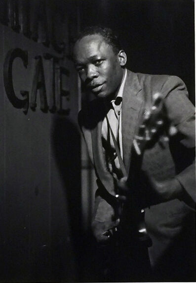 William Claxton, 'John Lee Hooker, 1955', 1955
